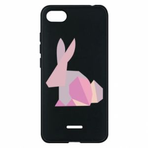 Etui na Xiaomi Redmi 6A Pink Bunny Abstraction