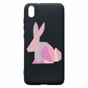 Etui na Xiaomi Redmi 7A Pink Bunny Abstraction