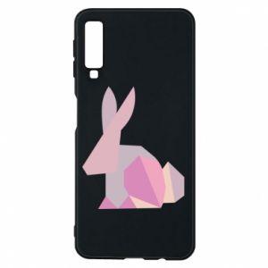 Etui na Samsung A7 2018 Pink Bunny Abstraction