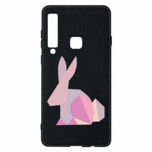 Etui na Samsung A9 2018 Pink Bunny Abstraction