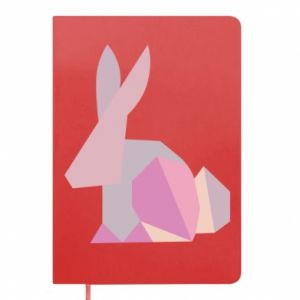 Notes Pink Bunny Abstraction