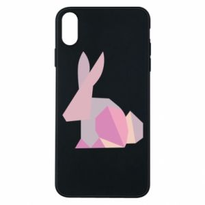Etui na iPhone Xs Max Pink Bunny Abstraction