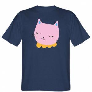 T-shirt Pink cat