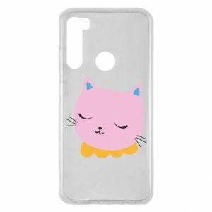 Etui na Xiaomi Redmi Note 8 Pink cat