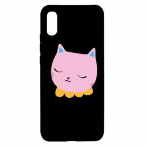 Etui na Xiaomi Redmi 9a Pink cat
