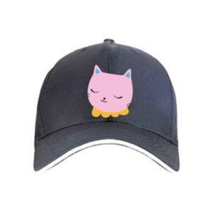 Cap Pink cat - PrintSalon