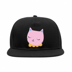 SnapBack Pink cat - PrintSalon