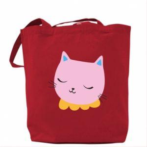 Bag Pink cat - PrintSalon
