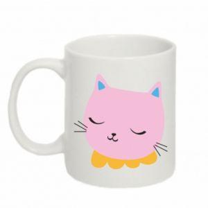 Kubek 330ml Pink cat
