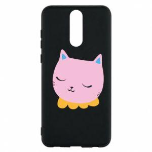 Phone case for Huawei Mate 10 Lite Pink cat - PrintSalon