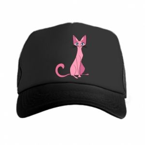 Czapka trucker Pink eared cat