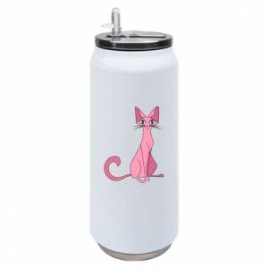 Puszka termiczna Pink eared cat