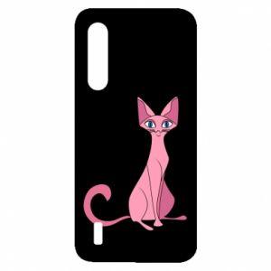 Etui na Xiaomi Mi9 Lite Pink eared cat