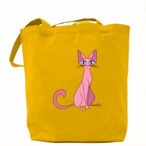 Torba Pink eared cat