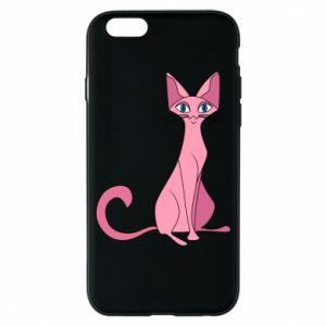 Etui na iPhone 6/6S Pink eared cat