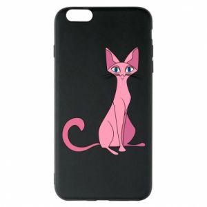 Etui na iPhone 6 Plus/6S Plus Pink eared cat