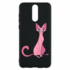 Etui na Huawei Mate 10 Lite Pink eared cat