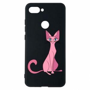 Etui na Xiaomi Mi8 Lite Pink eared cat