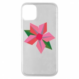 Etui na iPhone 11 Pro Pink flower abstraction