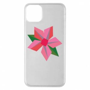 Etui na iPhone 11 Pro Max Pink flower abstraction