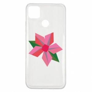 Etui na Xiaomi Redmi 9c Pink flower abstraction
