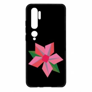 Etui na Xiaomi Mi Note 10 Pink flower abstraction