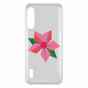 Etui na Xiaomi Mi A3 Pink flower abstraction