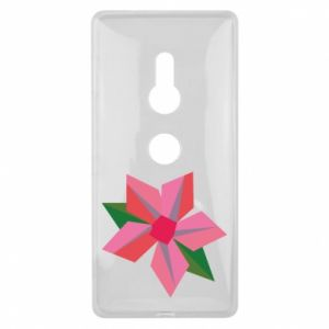 Etui na Sony Xperia XZ2 Pink flower abstraction