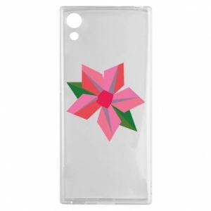 Etui na Sony Xperia XA1 Pink flower abstraction