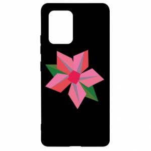 Etui na Samsung S10 Lite Pink flower abstraction