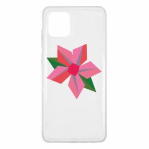 Etui na Samsung Note 10 Lite Pink flower abstraction