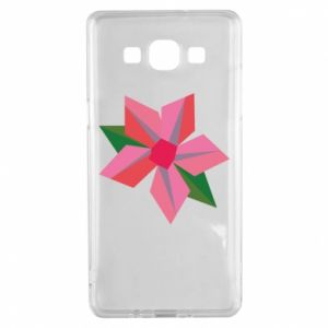 Etui na Samsung A5 2015 Pink flower abstraction