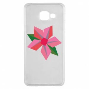Etui na Samsung A3 2016 Pink flower abstraction