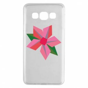 Etui na Samsung A3 2015 Pink flower abstraction