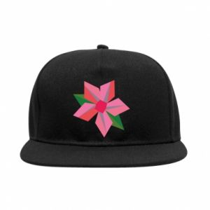 Snapback Pink flower abstraction