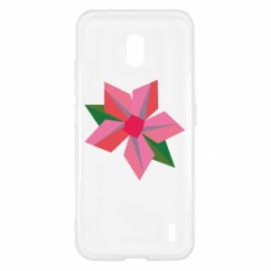 Etui na Nokia 2.2 Pink flower abstraction