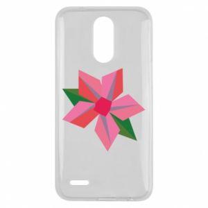 Etui na Lg K10 2017 Pink flower abstraction