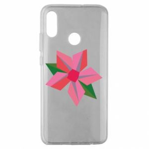 Etui na Huawei Honor 10 Lite Pink flower abstraction