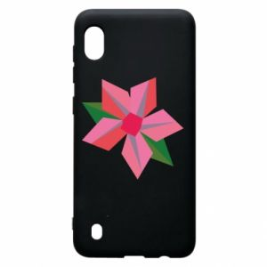 Etui na Samsung A10 Pink flower abstraction