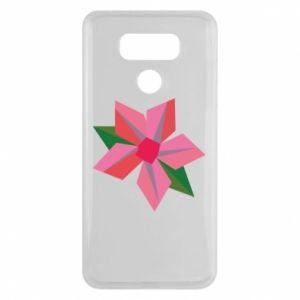Etui na LG G6 Pink flower abstraction