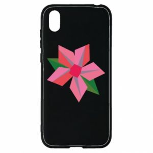 Etui na Huawei Y5 2019 Pink flower abstraction