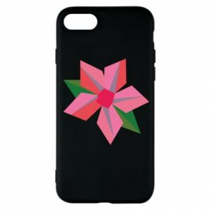 Etui na iPhone SE 2020 Pink flower abstraction