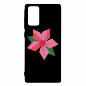 Etui na Samsung Note 20 Pink flower abstraction