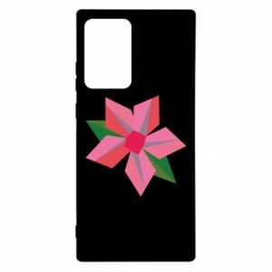Etui na Samsung Note 20 Ultra Pink flower abstraction