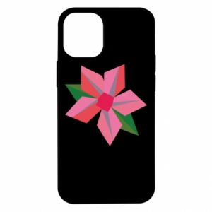 Etui na iPhone 12 Mini Pink flower abstraction