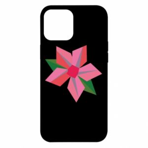 Etui na iPhone 12 Pro Max Pink flower abstraction