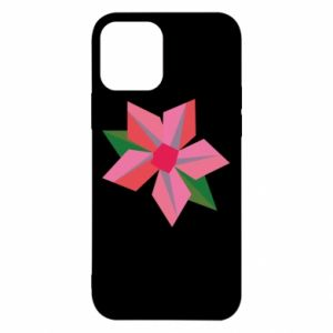 Etui na iPhone 12/12 Pro Pink flower abstraction