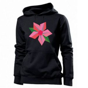 Damska bluza Pink flower abstraction