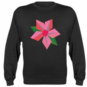 Bluza (raglan) Pink flower abstraction