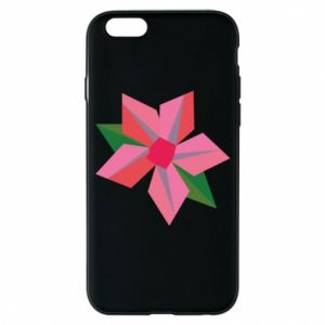 Etui na iPhone 6/6S Pink flower abstraction